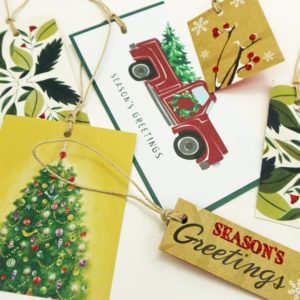 Make Gift Tags From Old Christmas Cards