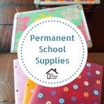 Permanent School Supplies
