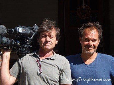 French TV Crew