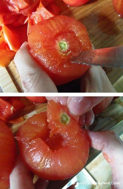 How to Core a Tomato