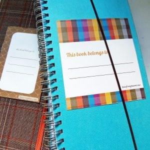 Printable Bookplates