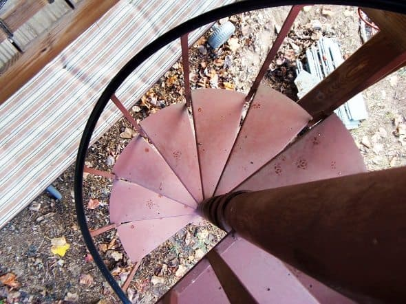 Spiral Staircase Aerial