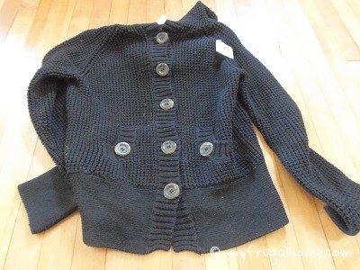 Black Waffle Weave Jacket