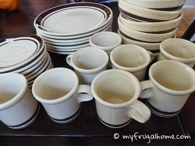 Brown McCoy Dishes