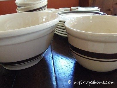 Brown McCoy Bowls