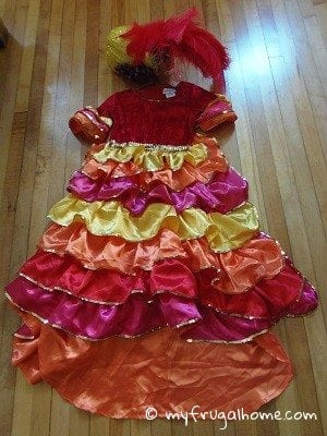 Cha-Cha-Cha Dancer Costume