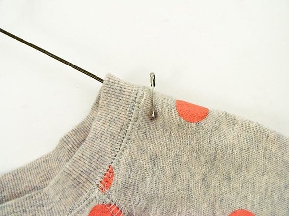Pin Clothes to Hangers