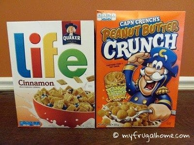 Sale Cereal