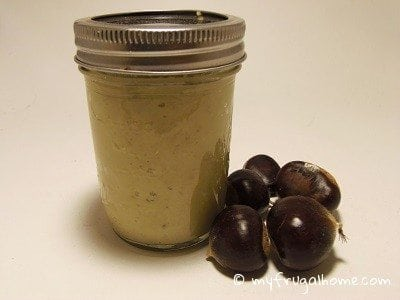 How to Make Chestnut Butter