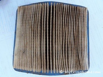 Clean or Replace the Air Filter