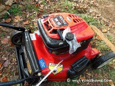 Clean the Mower Deck