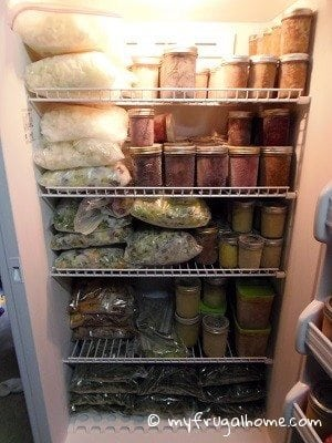 What's in My Freezers?