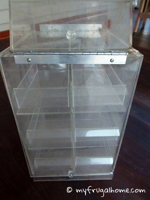 Commerical cookie display case how fun would this be at a party