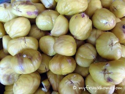 Shelled Chestnuts