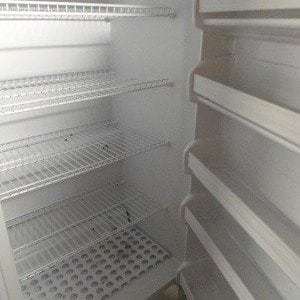 Upright Freezer - Interior