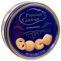 Premium Butter Cookie Tin