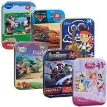 Disney Puzzles in Tins