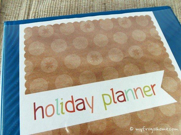 Printable Holiday Planner