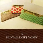 Printable Gift Money Envelopes
