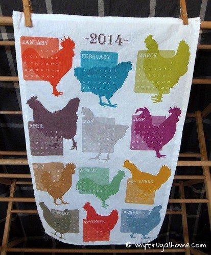 2014 Tea Towel Calendars