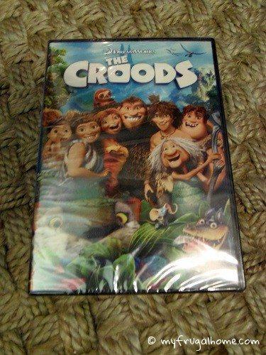 Croods DVD