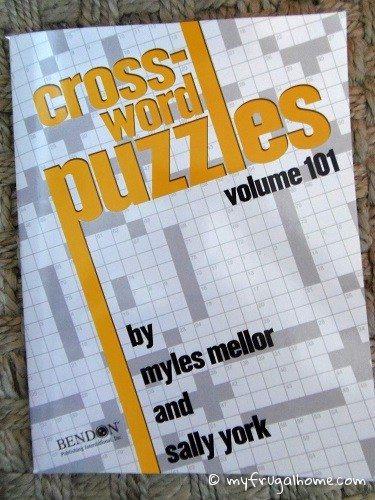 Crossword Puzzle Book