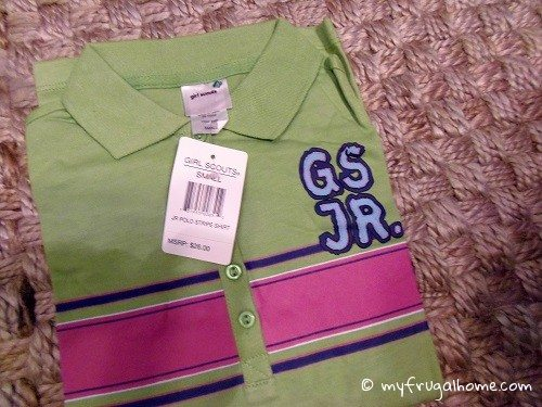 Girl Scout Polo Shirt
