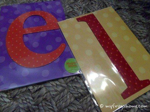 Letter Magnets