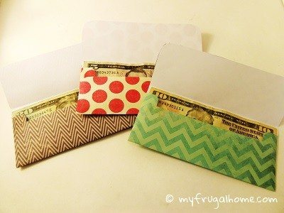 Gift Money Envelope Templates