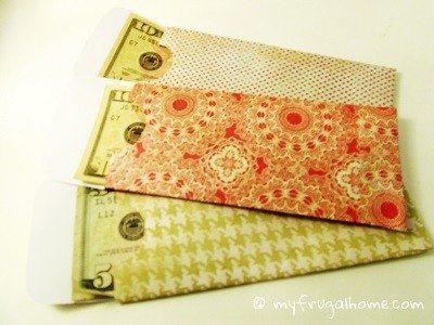 Money Envelope - Top Loading