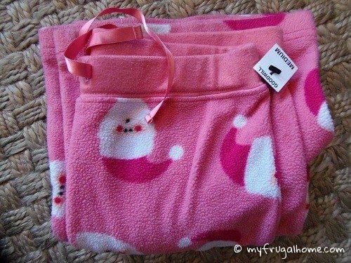 Santa Pajama Bottoms