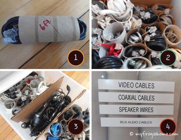 Four Steps to Organized Cords