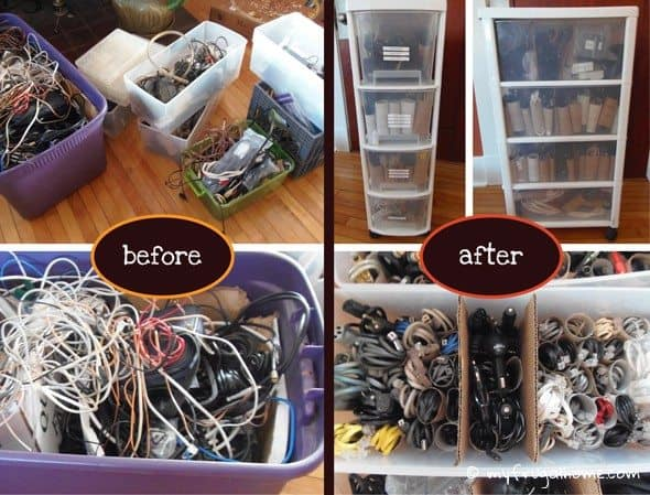 Cords Before and After
