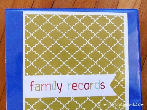 How to Organize Family Records