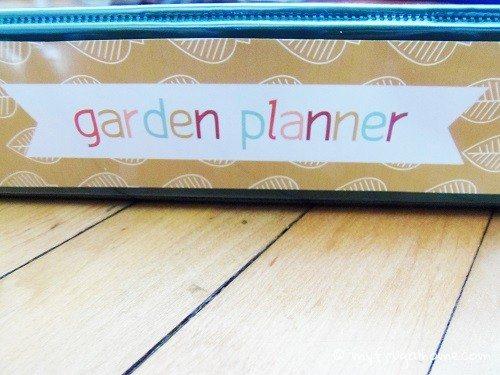 Garden Planner Spine