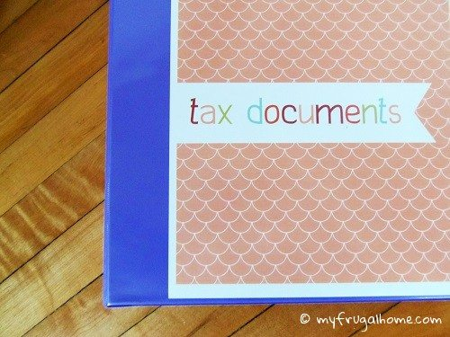 How to Organize Tax Documents