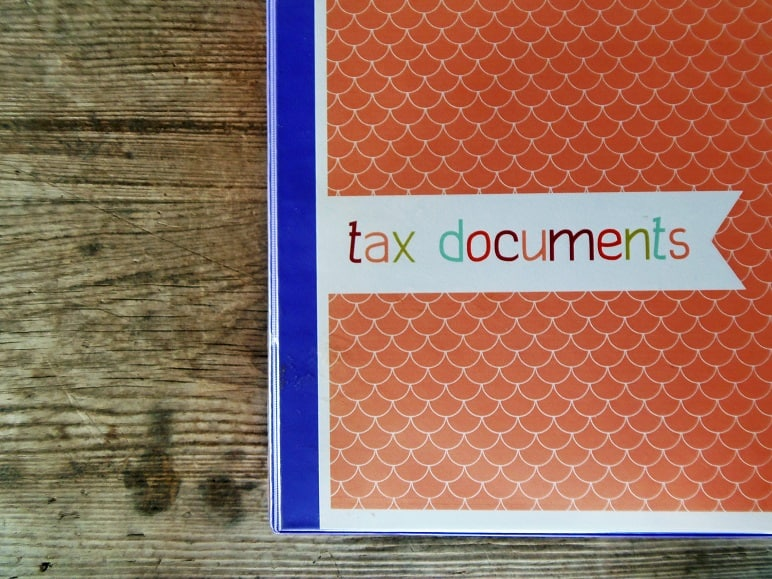 Cover of Tax Binder