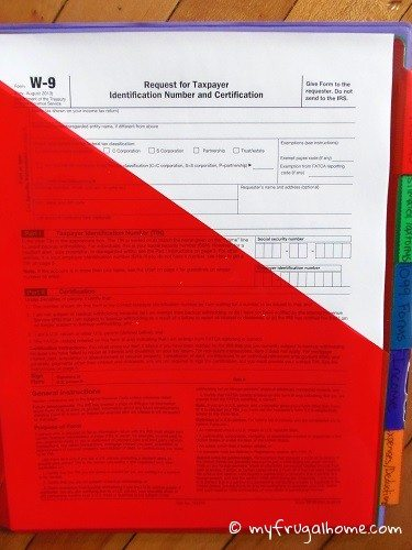 W-9 Forms