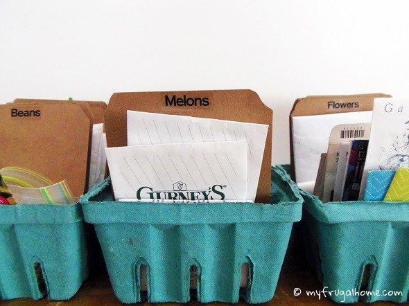 How to Organize Seeds