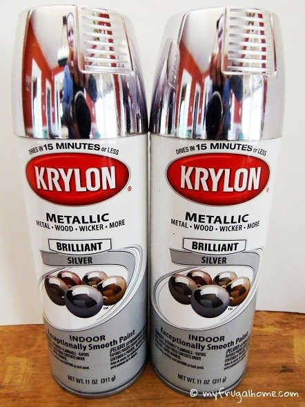 Metallic Silver Spray Paint