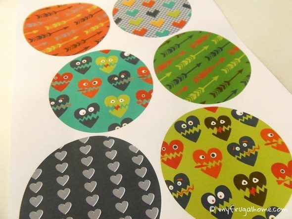 Monster Fortune Cookie Printable