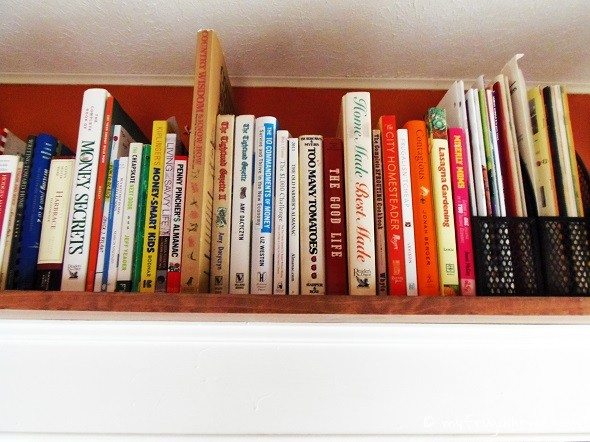 Over-the-Door Shelf - Close-Up