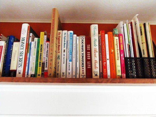 Over-the-Door Shelf - Close-Up