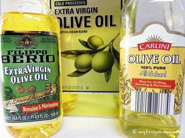 Save Money on Olive Oil