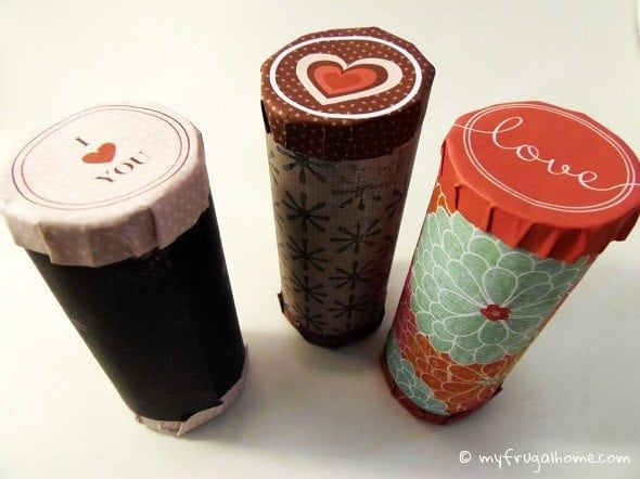 Toilet Paper Roll Valentines - with a Free Printable