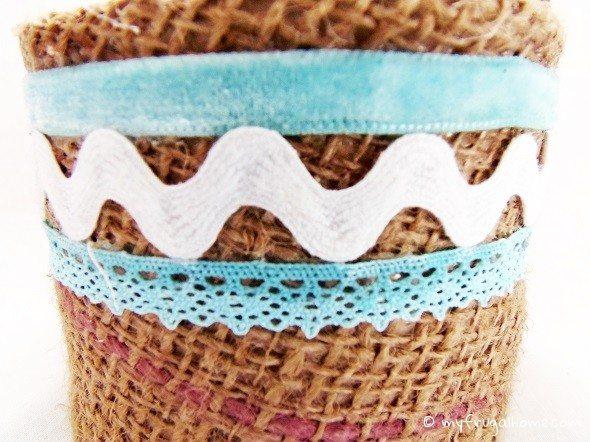 Closeup of Basket Trim
