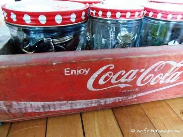 Coke Crate Storage