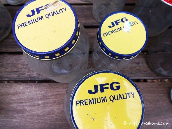 JFG Coffee Jars