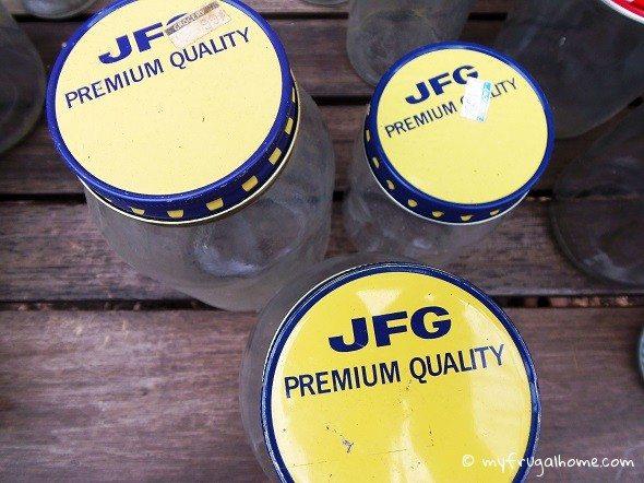 JFG Coffee Jars