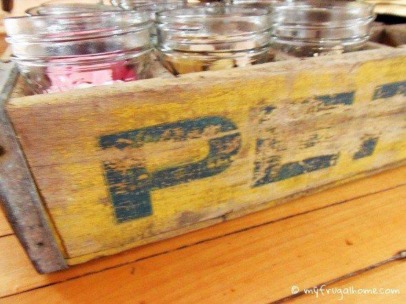 Pepsi Crate Storage